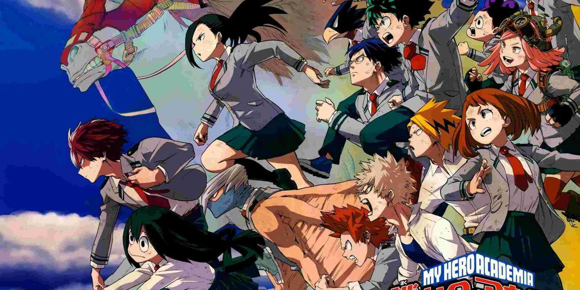 My Hero Academia- best anime of all time