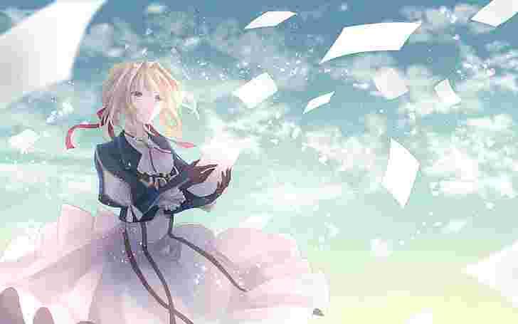 Best Short Anime: Violet Evergarden