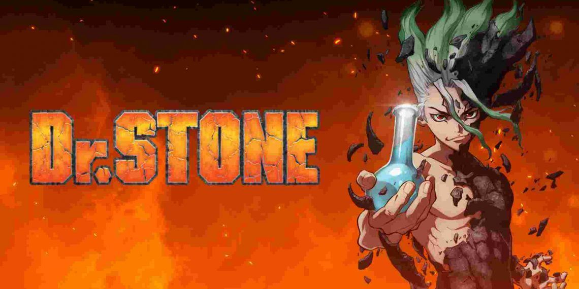 Dr.stone- best anime to watch at home