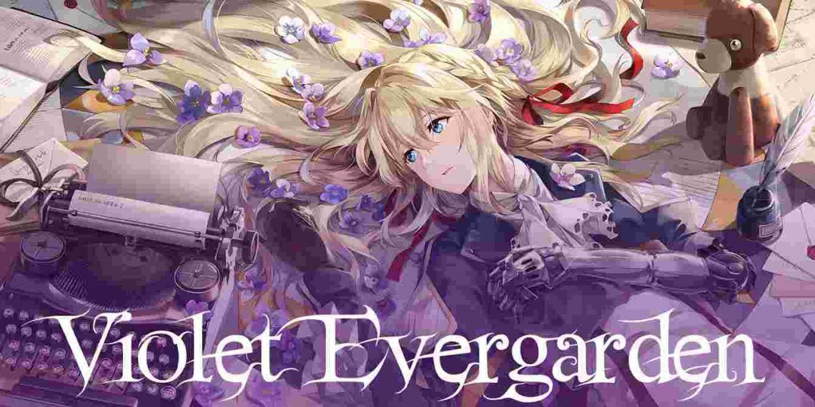 violet evergarden- best sad anime