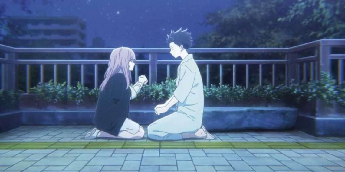 a silent voice- best anime of kyoto animation