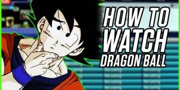 dragon ball watch order