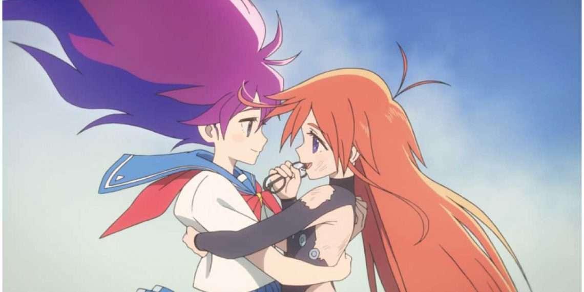 Flip Flappers- best yuri anime