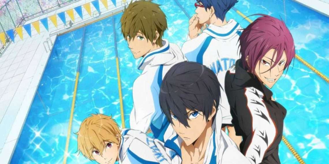 Free!- best anime of Kyoto Animation