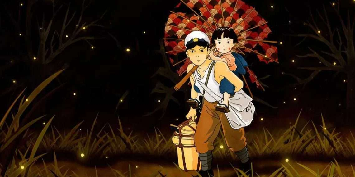 Grave of the Fireflies- best sad anime