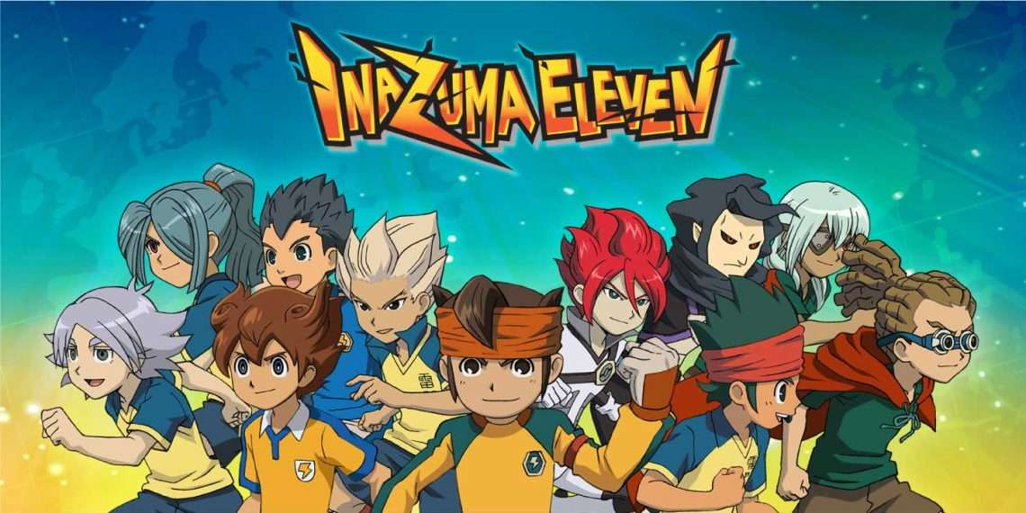 Inazuma Eleven- best sports anime