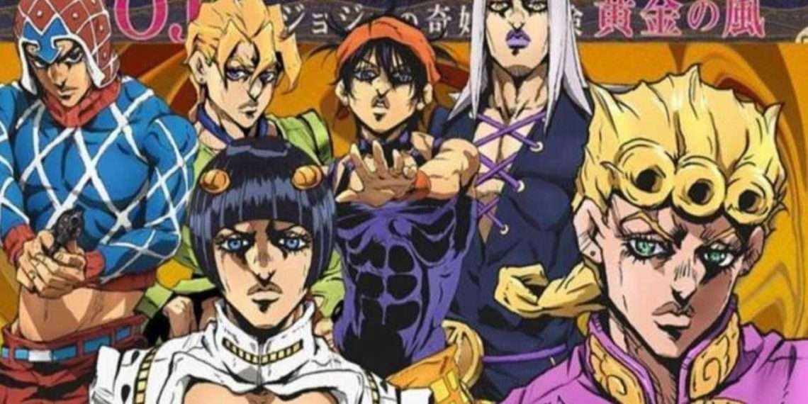jojo's bizarre adventure golden wind