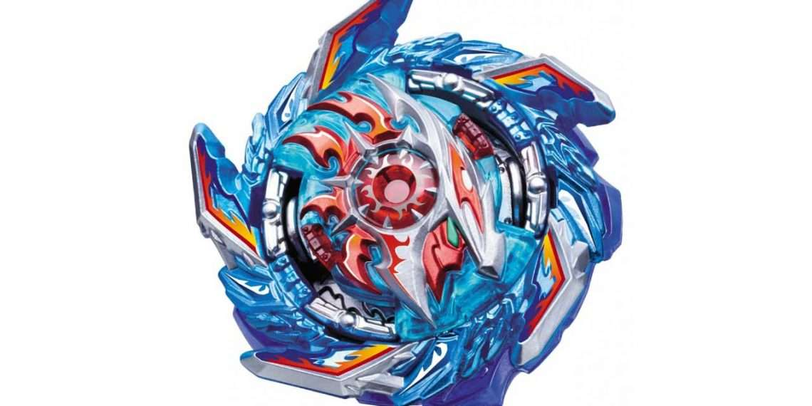 king helios zone 1B- beyblade