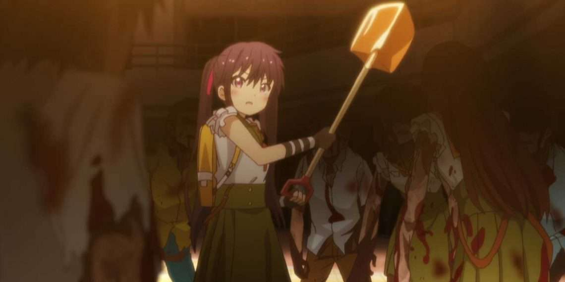 School-Live!- best zombie anime series