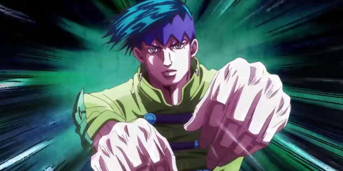 jojo's bizarre adventure thus spoke rohan kishibe