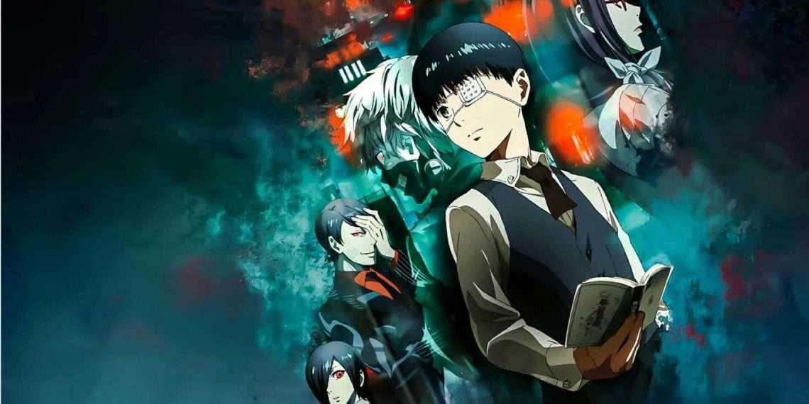 Tokyo Ghoul- best dark anime
