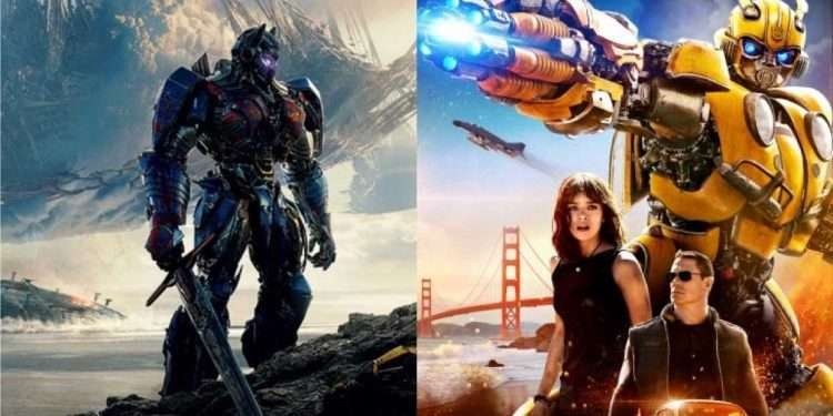 transformers live action film