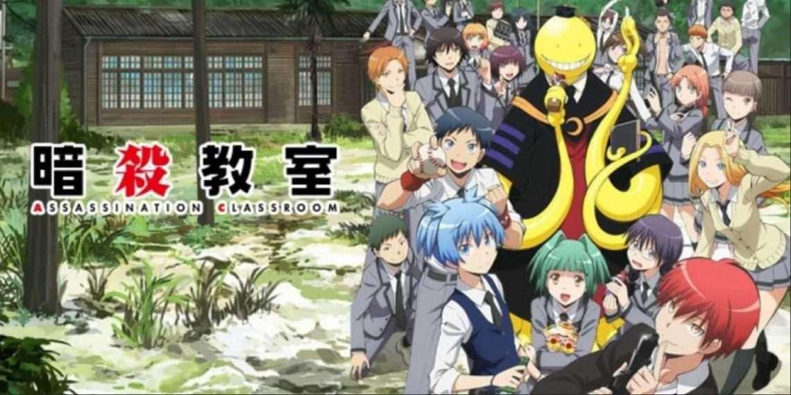 Assassination Classroom- best comedy anime