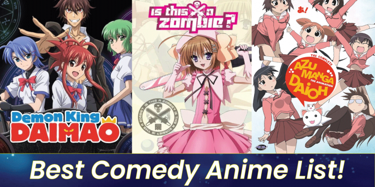 best comedy anime