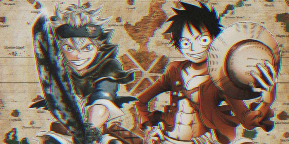 one piece and black clover