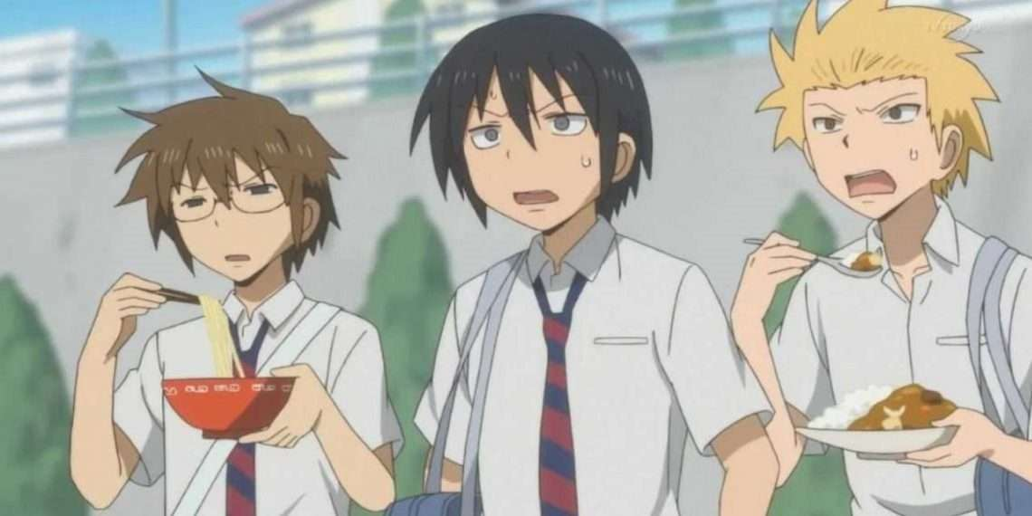 Daily Lives of High School Boys- best comedy anime