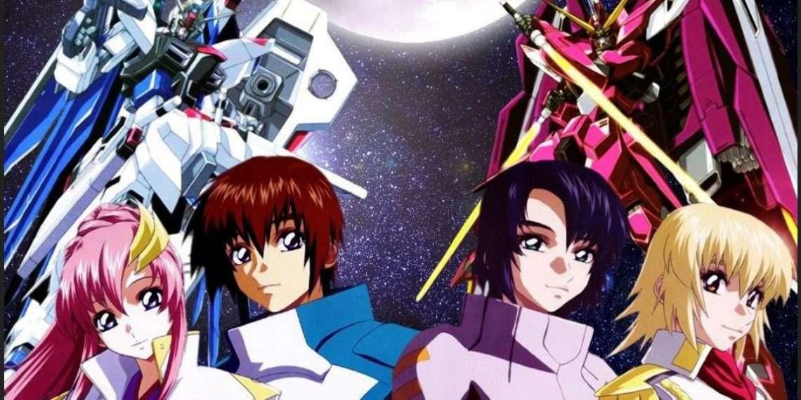 Gundam Seed- best sci-fi anime