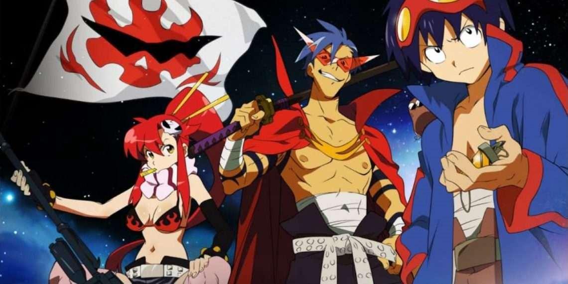 Tengen Toppa Gurren Laggan- best sci-fi anime