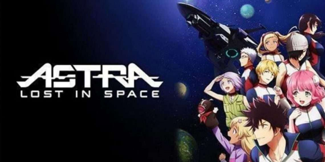 Astra Lost in Space- best sci-fi anime