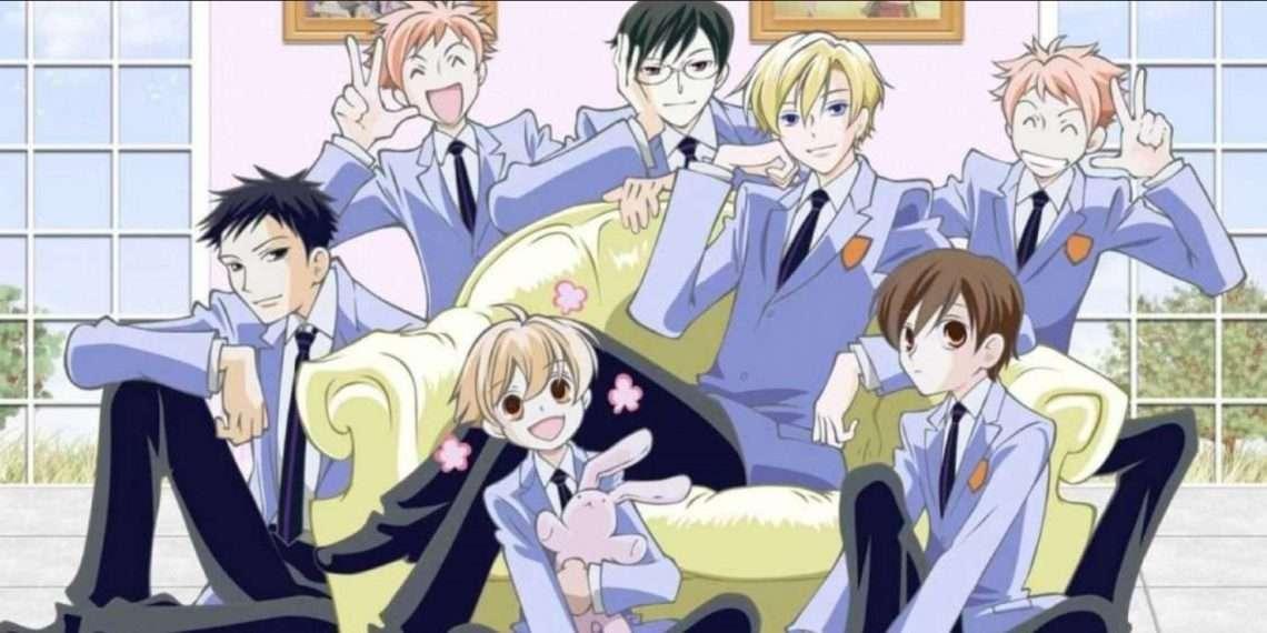 Ouran High School Host Club- best comedy anime