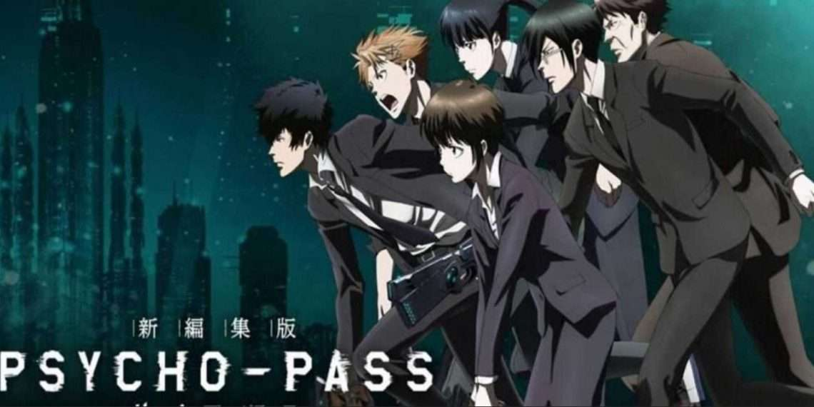 Psycho-Pass- best sci-fi anime