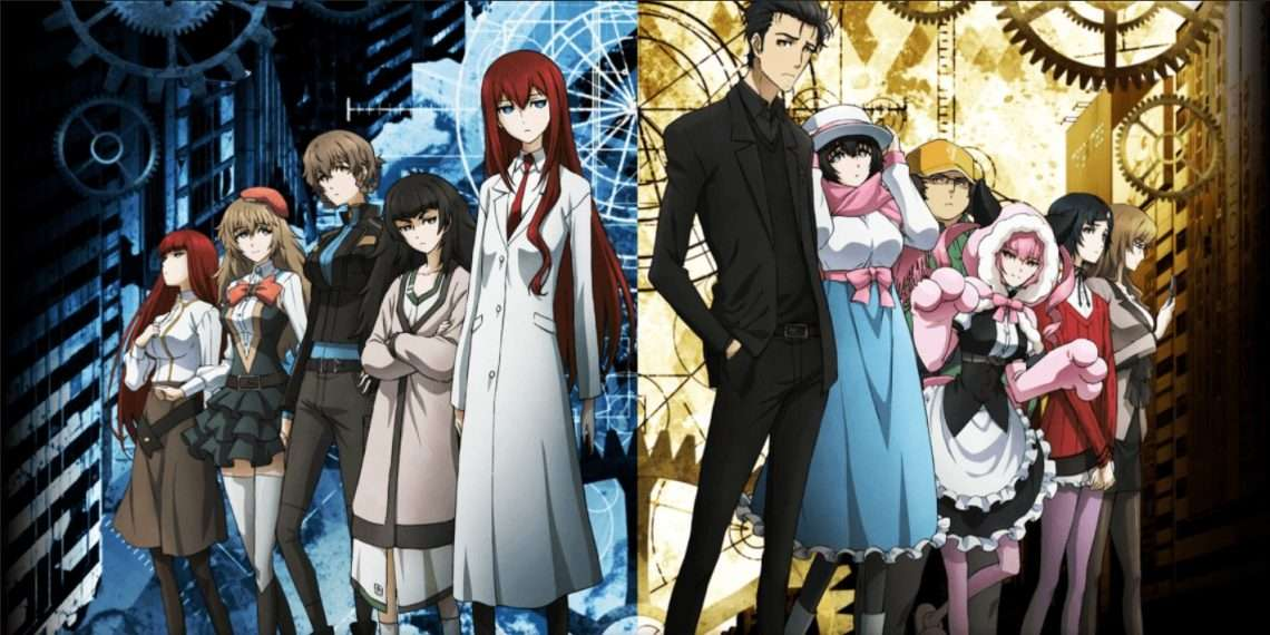 Steins; Gate- best sci-fi anime