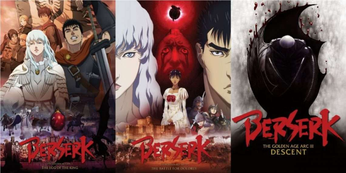 Berserk: The Golden Age Arc- berserk watch order