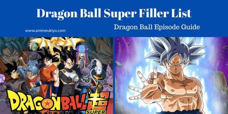 dragon ball super filler list