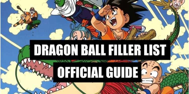 dragon ball filler list