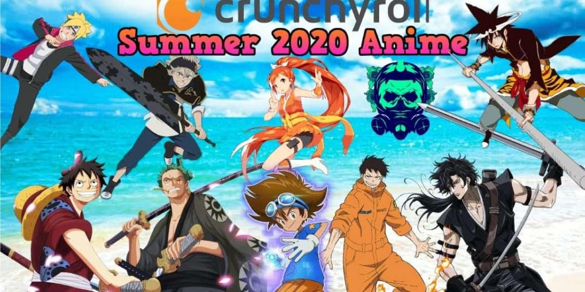 crunchyroll summer lineup