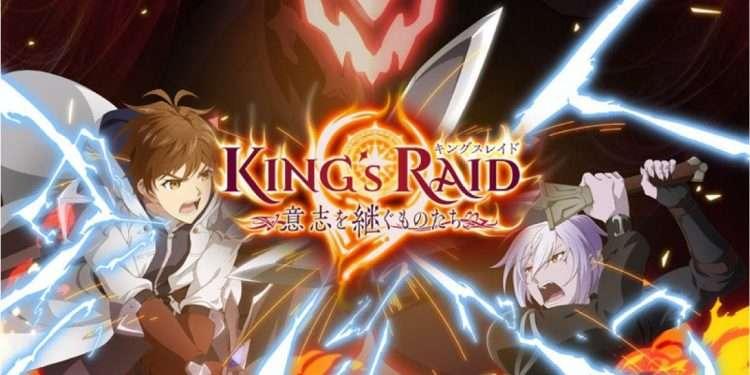 king's raid anime