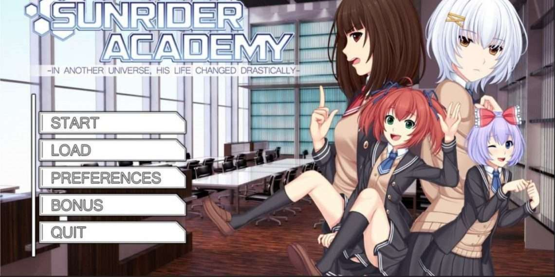 Sunrider Academy- best dating simulation games