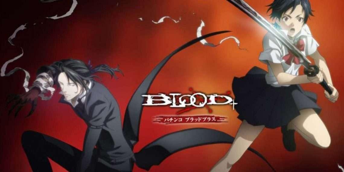 Blood+- best vampire anime