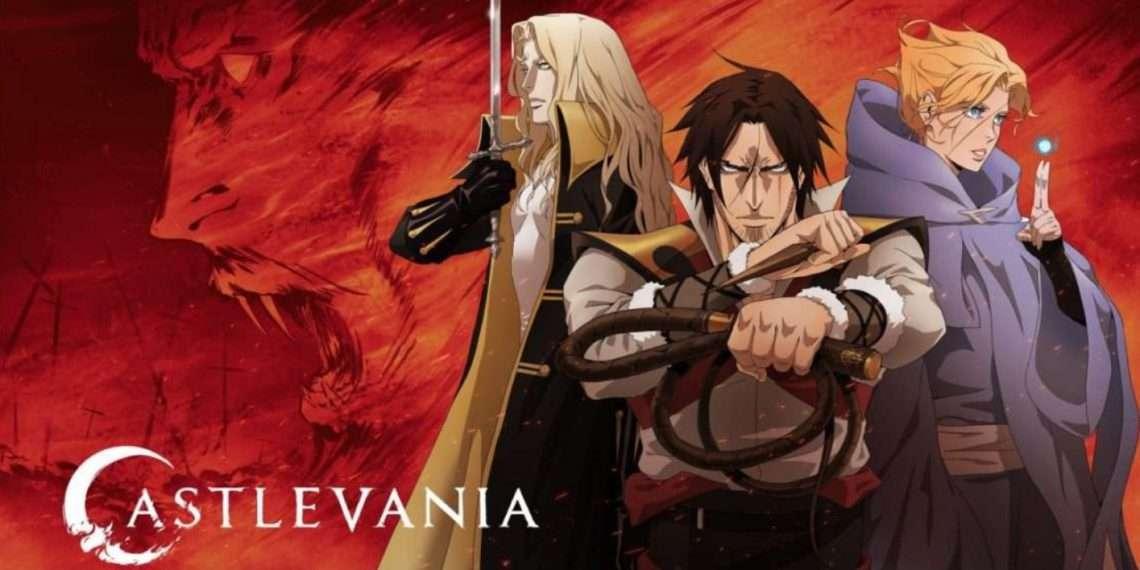 Castlevania- best vampire anime