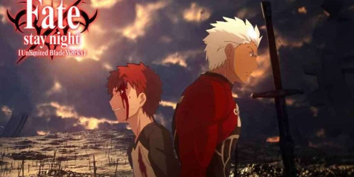 Fate/Stay Night: Unlimited Blade Works- best ufotable anime