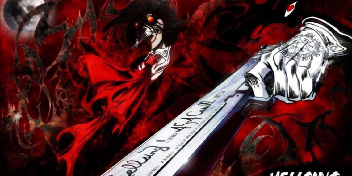 Hellsing Ultimate- best vampire anime