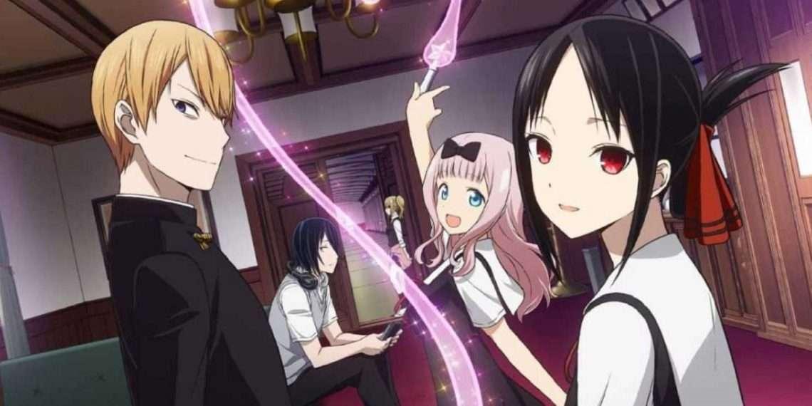 Kaguya-sama: Love is War- best school life anime