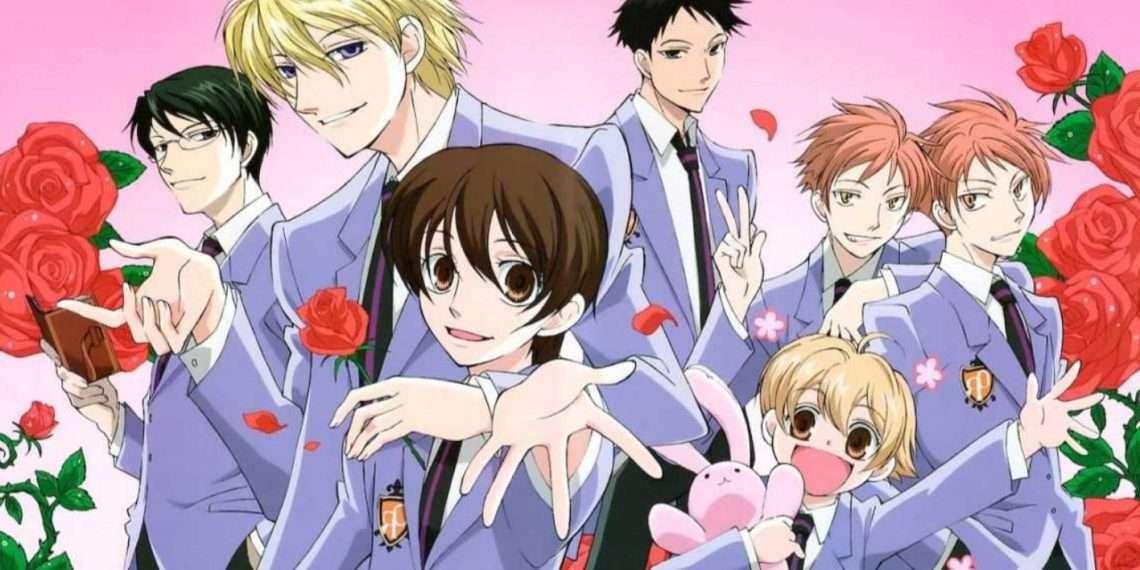 Ouran High School Host Club- best school life anime