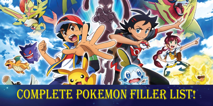 Pokemon filler list