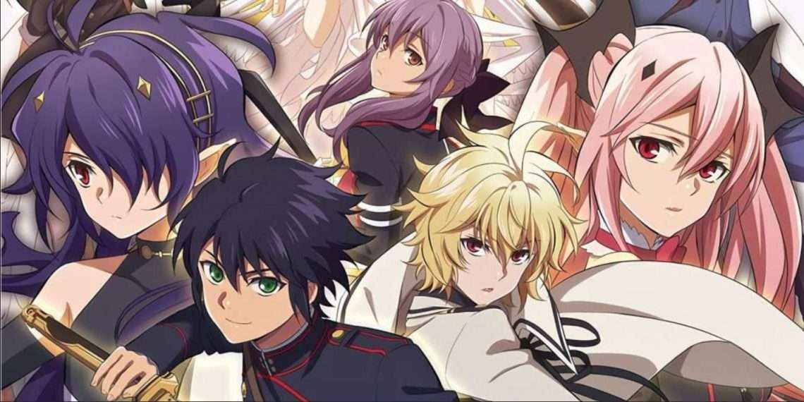 Seraph of the End- vampire anime