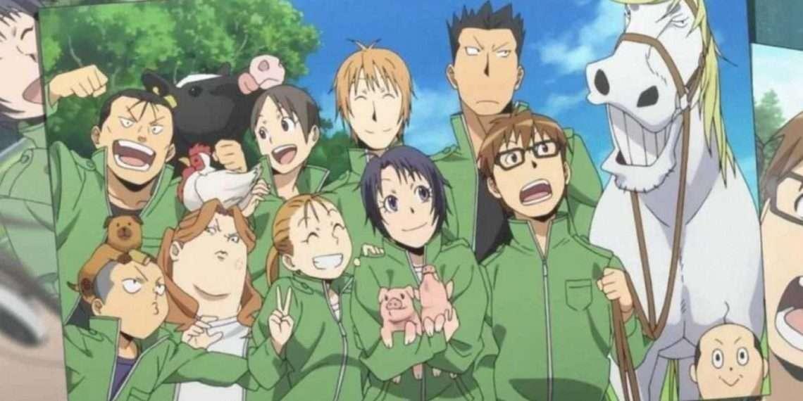 Silver Spoon- best school life anime