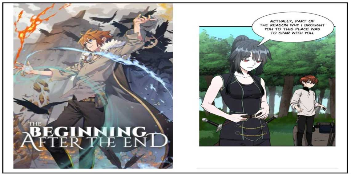 The Begining After the End- manhwa like solo leveling