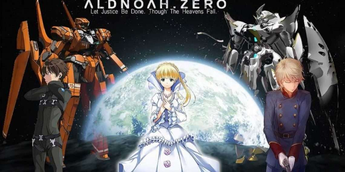 Aldnoah Zero- best mecha anime/robot anime