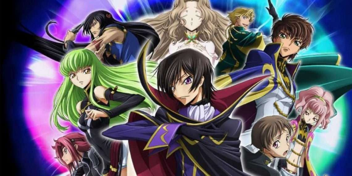Code Geass- best mecha anime