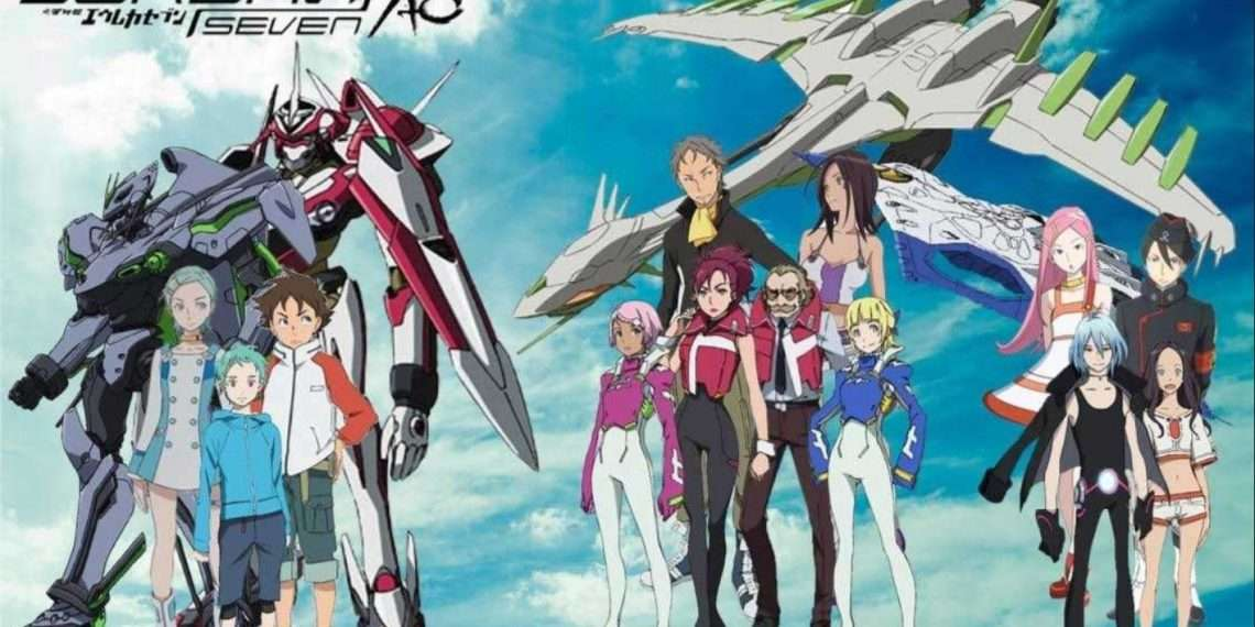 Eureka Seven- best mecha anime