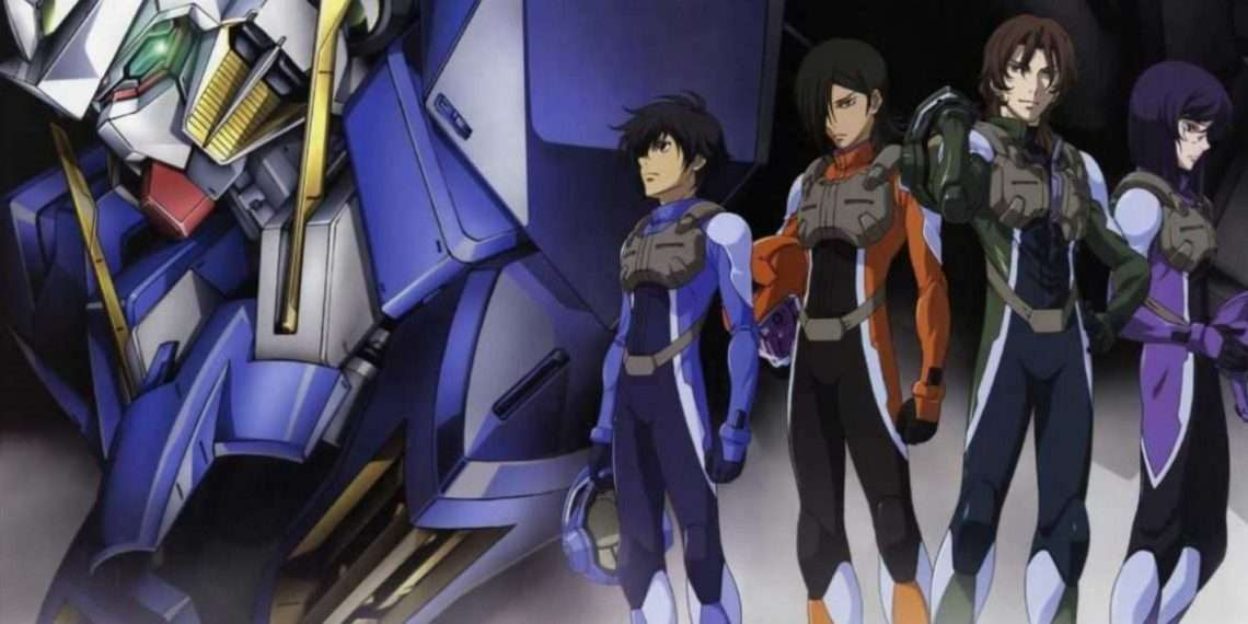 Mobile Suit Gundam 00- best mecha anime