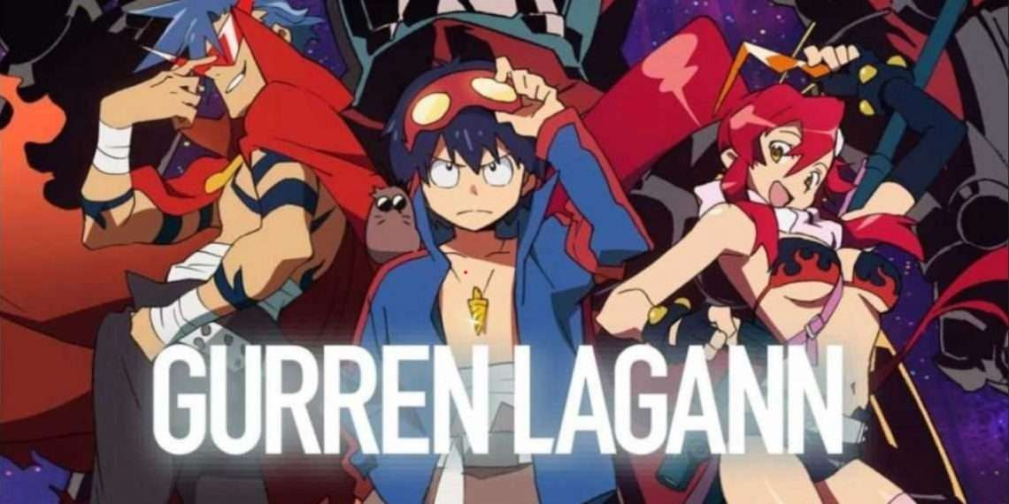 Gurren Laggan- best mecha anime