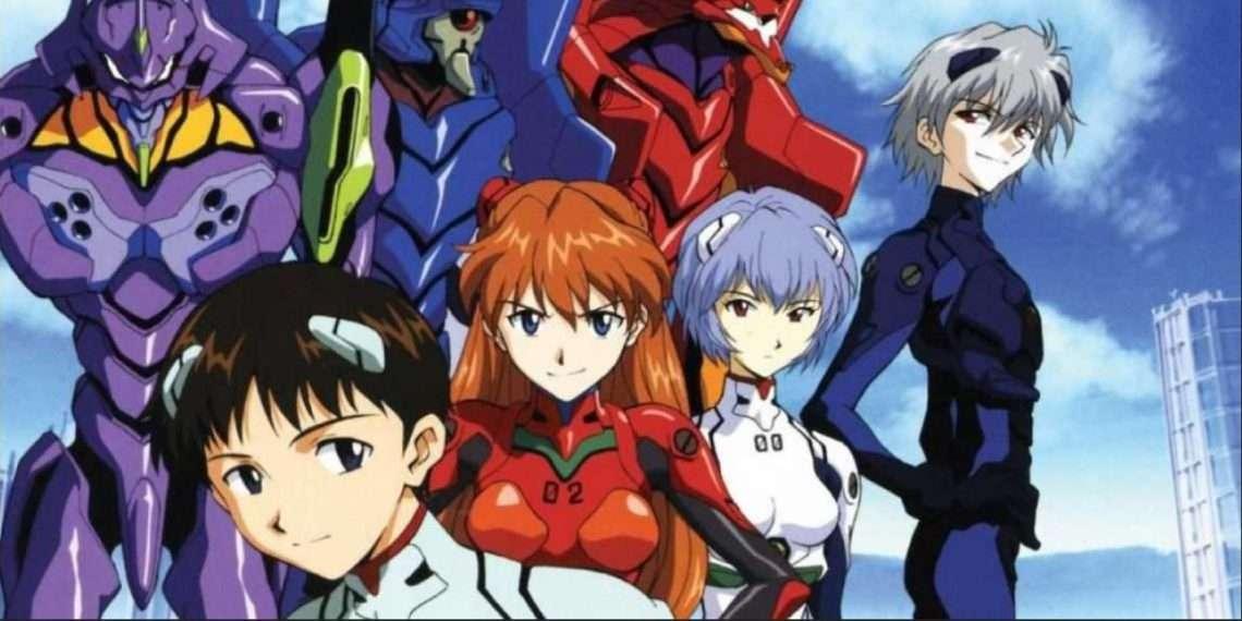 Neon Genesis Evangelion- best mecha anime