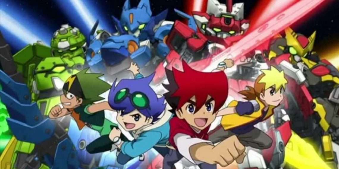 Tenkai Knights- best mecha anime
