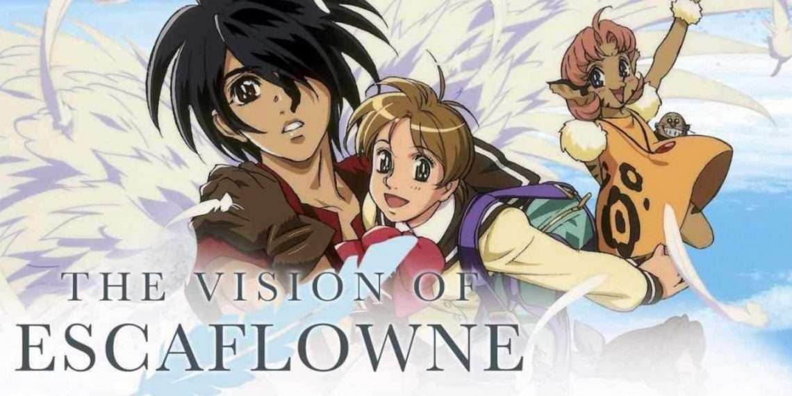 The Vision of Escaflowne- best mecha anime